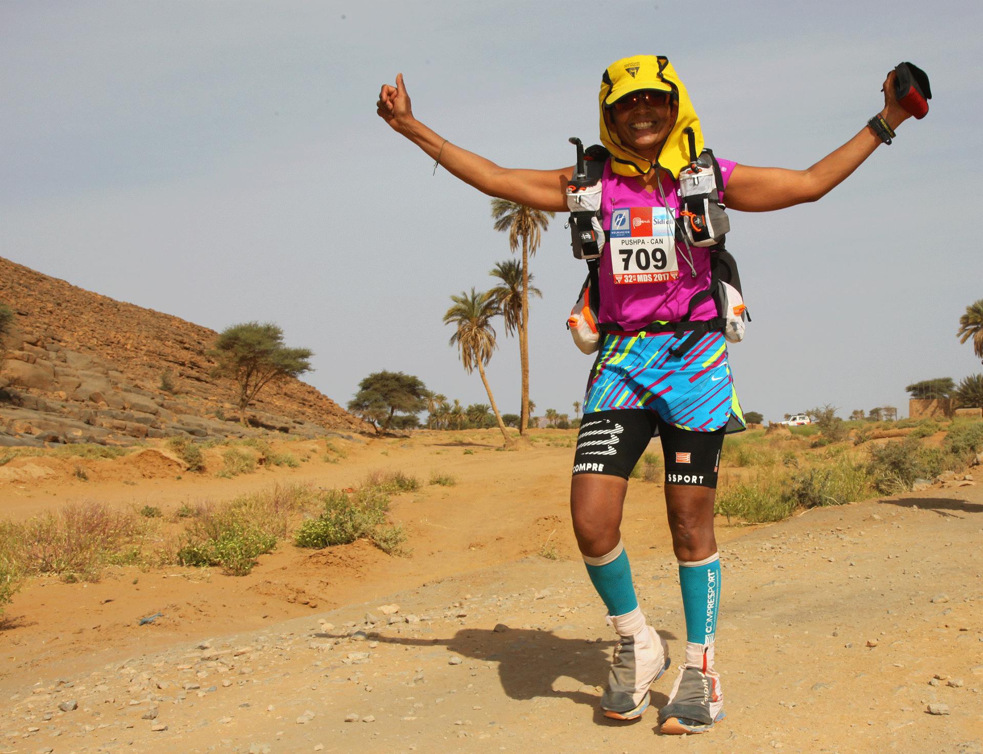 Pushpa Chandra World Marathon Challence