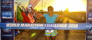 Dr Pushpa Chandra World Marathon Challenge 2018